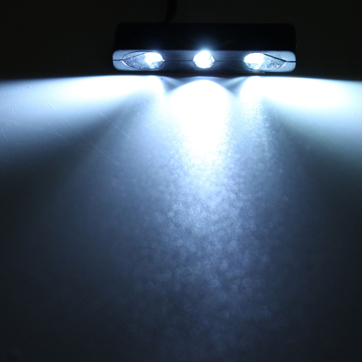 Universal Car Motorcycle Tiny Rear Number Plate Light 3 Micro12V LED White Lamp