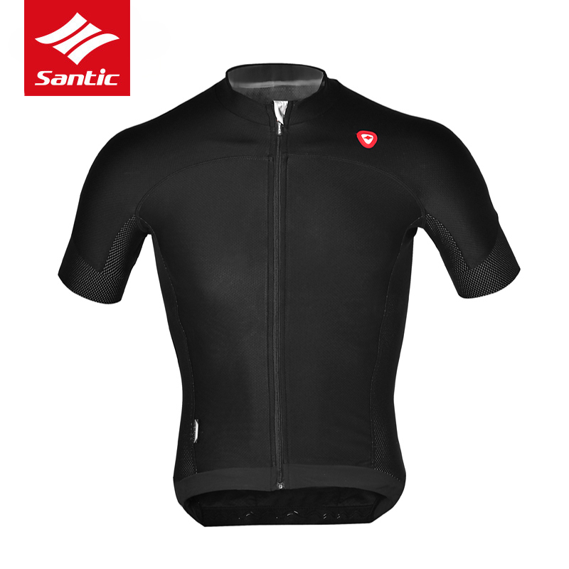 Santic Cycling Jersey UPF40+ Anti-sweat Bteathable Close-fit Downhill MTB Bicycle Bike Jersey Clothing Equipacion Ciclismo 2017 santic men short sleeve cycling jersey breathable summer cycling clothing mtb road downhill bicycle bike jersey anti sweat