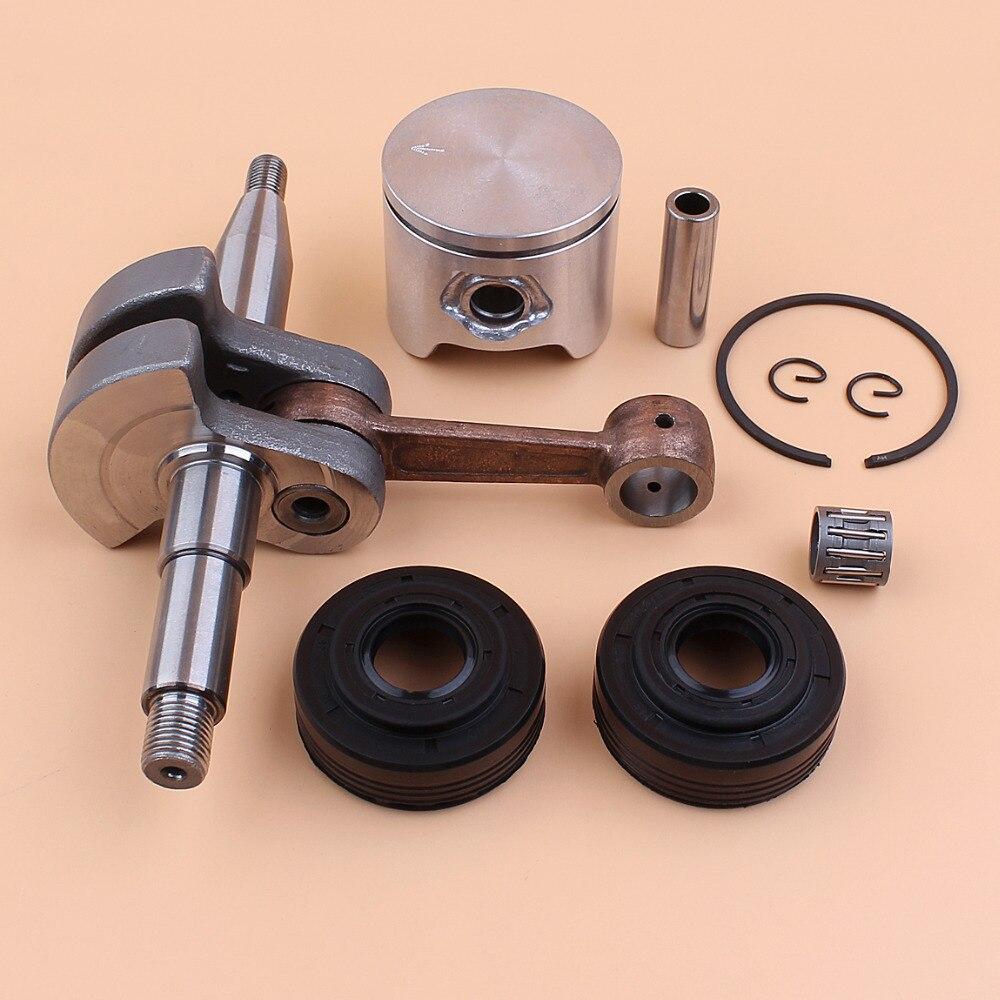 Kit de roulement de joint d'huile de Piston de vilebrequin 44mm pour HUSQVARNA 350 340 345 pièces de tronçonneuse #503 85 80 71