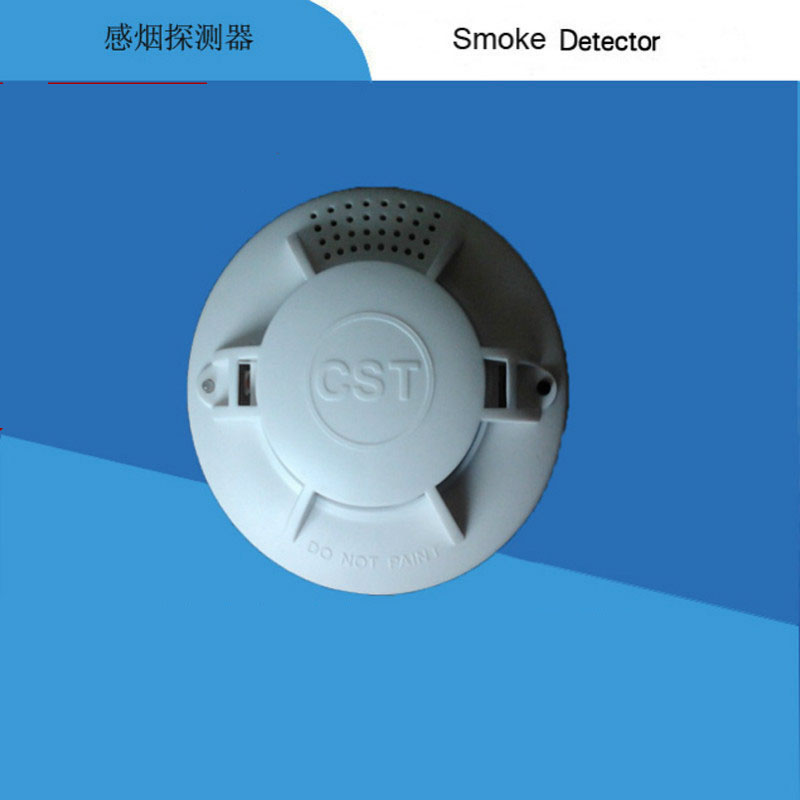 Battery Powered Smoke Alarm  Photoelectric  Battery Optical Smoke Detector with CE DC9V smoke detector battery powered photoelectric smoke alarm independent smoke detector single station type smoke detector