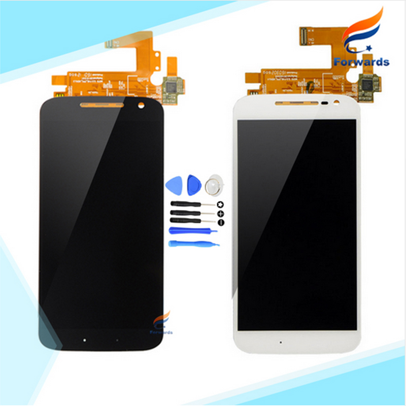 10pcs/lot free DHL/EMS Replacement Parts for Motorola G4 for MOTO G4 plus LCD Screen Display with Touch Digitizer Tools Assembly 2016 sale rushed 10pcs free dhl ems for motorola moto xt1254 touch digitizer lcd display 100