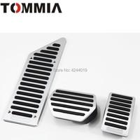 TOMMIA Citroen C5 C6 araba pedalı Footrest fren ve gaz Pedal pedi alüminyum alaşım