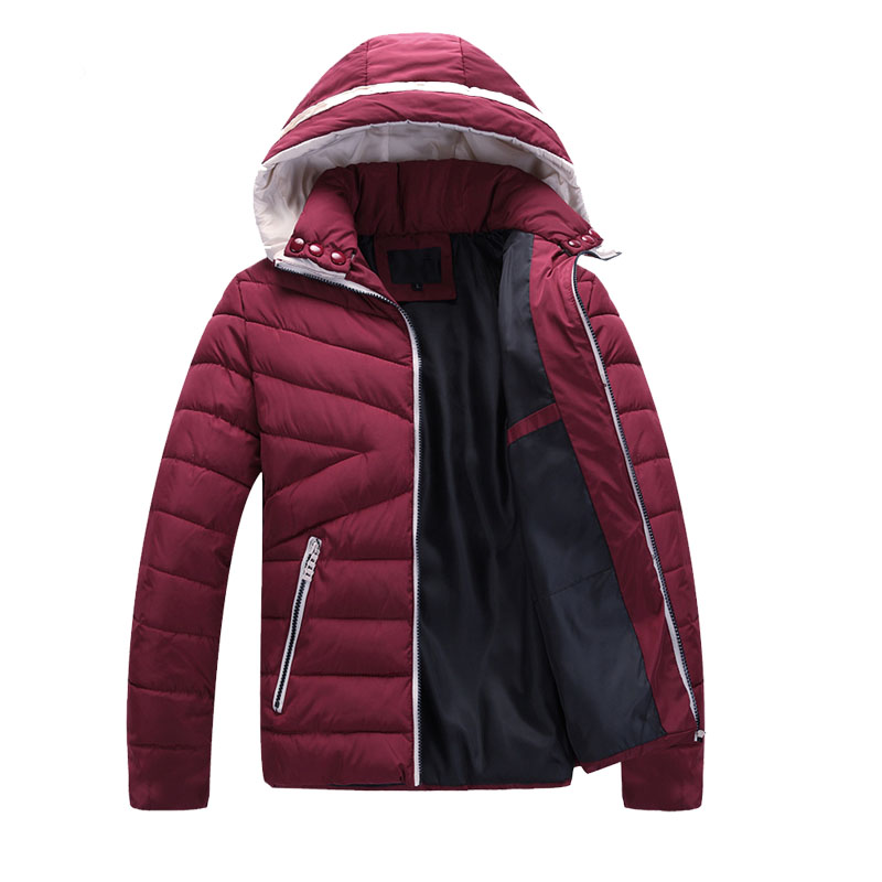 Winter jackets mens 2016 Men s Jacket Parka Thick Warm Jacket Men Comfortable Cotton Parka Men
