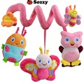 [Sozzy] Baby Gift Multifunctional Baby Bed Hanging Baby Crib Mobile Rotating Music Baby Rattles Stroller Hanging Toy