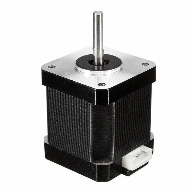 17 78 Oz-em 48mm de Passo Nema Motor 1.8 Grau Passo Ângulo 1.68A para impressora com 48 3D mm fios