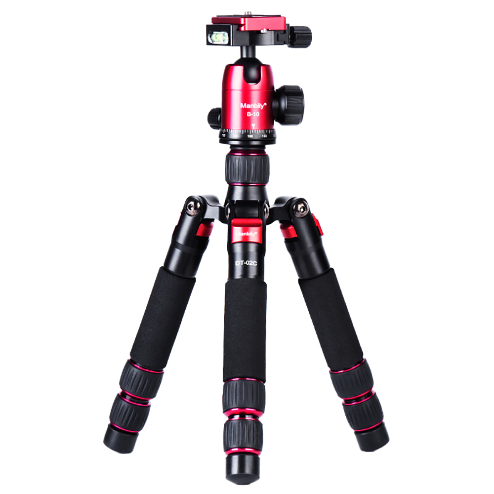 Image 3 - Manbily DT 02 mini tripod for mobile phone and camera macro shooting desktop video standLive Tripods