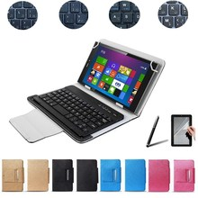 Free Stylus&Screen Protector UNIVERSAL Wireless Bluetooth Keyboard Case For Dell Venue 7 Keyboard Language Layout Customized