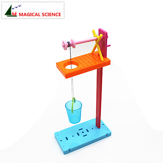 Wholesale Physical Experiments Homemade Roller Wells DIY Materials,home School Educational Kit For Your Kids Students