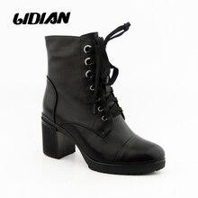 IDizmet e grave LIDIAN çizme prej lëkure origjinale të bëra me dorë Gruaja motorike çizme kyçin e këmbës Pelush shpathë prej pelushi të shkurtër