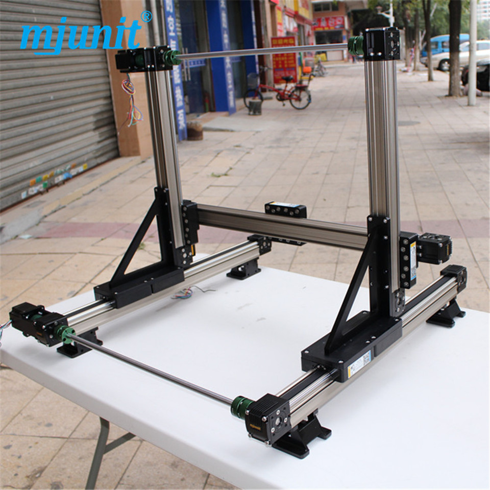 rotating toothed belt drive XYZ-gantry Cylinder Linear Rail Linear Shaft Optical Axis miniature linear slide linear axis with toothed belt drive belt drive linear rail reasonable price guideway 3d printer linear way