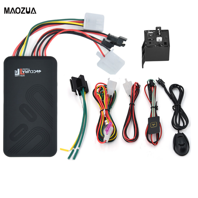 GT06 Mini Car GPS Tracker SMS GSM GPRS Vehicle Online Tracking System Monitor Remote Control Alarm for Motorcycle