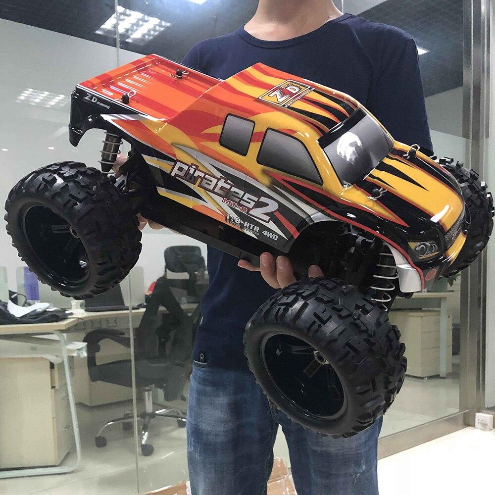 ZD 1/8 RC Car Racing 9116 Pirates2 MT-8 4WD Monster Off-road Car DIY Kit цена