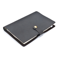 Moterm Classic Business Leather Notebook A5 Cowhide Cover Refillable Journal Diary Handmade Traveler Notebook Free Shipping