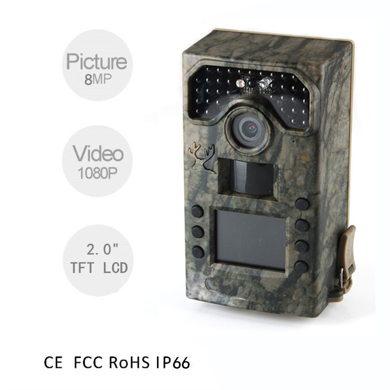 BL280A Basic Hunting Cameras Forest Wildlife Cameras 20M Trigger Range Infrared Game Cameras 8MP Wild Hunting Cameras for Hunter футболка hardlunch forest f15 bordo melange m