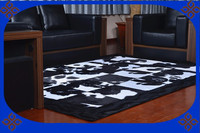 Free Shipping 100 Natural Genuine Cowhide Rug Pad