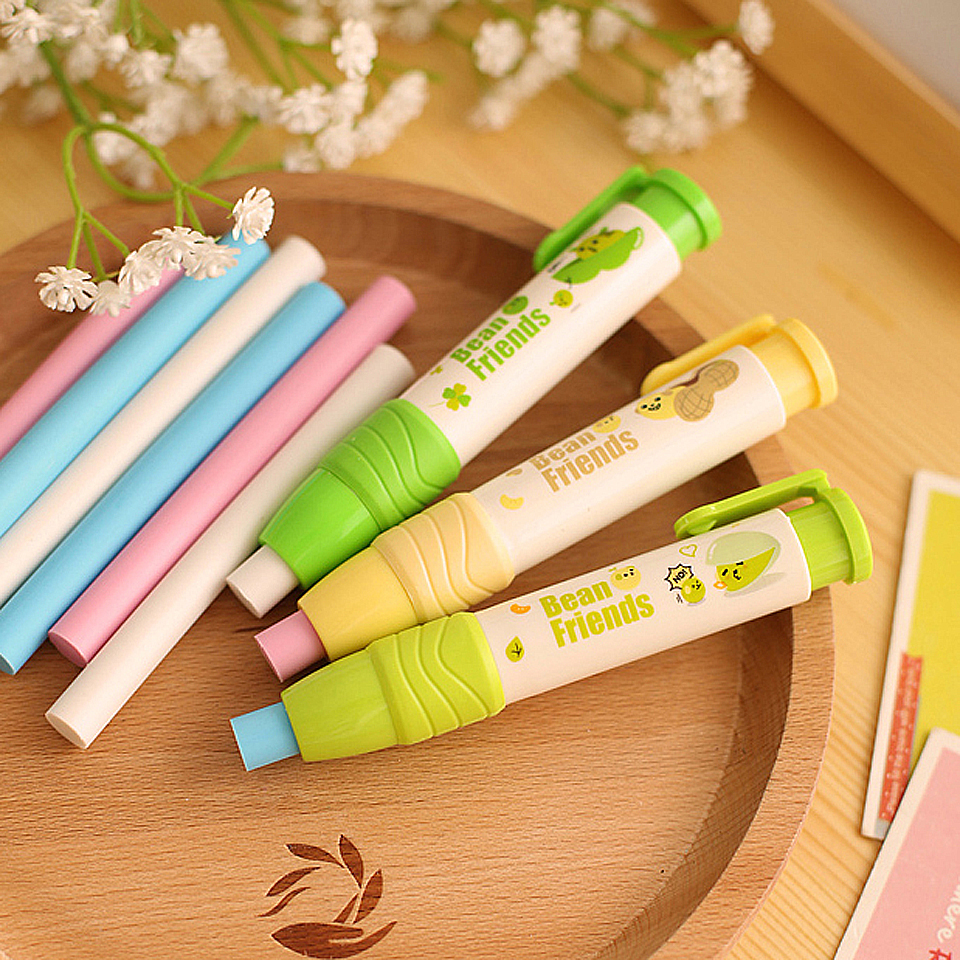 1 pcsCreative drawing Pencil Erasers with battery electric  Eraser Automatic LY