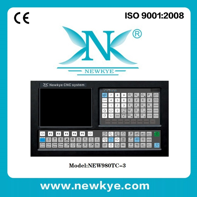 Newkye Best price 3 Axis CNC Lathe Controller New version NEW980TC-3 English panel English software