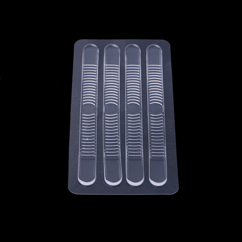 EYKOSI Fashion  Silicone Gel Soft Slender Heel Sticker Wear Proof Anti Slip With Thicken Clear Shoe Cushion New Fashion