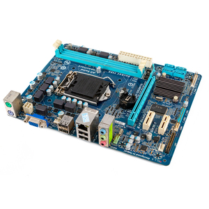 Image 3 - Gigabyte GA H61M DS2 Desktop Motherboard H61M DS2 H61 LGA 1155 For Core i3 i5 DDR3 16GB Micro ATX Used Mainboard