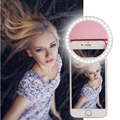 Selfie Enhancing Anel de Flash de Luz Luz Beleza Telefone Inteligente LEVOU Luminosa case para iphone 6 6 s plus samsung galaxy s7 telefone inteligente