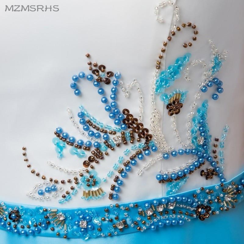 Robe De Soiree Vestido de noche elegante con abalorios de satén y - Vestidos para ocasiones especiales - foto 6
