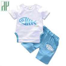 HH Baby Boy Clothes Summer baby animal costume Casual Kids Outfits clothing for girls fashionable child set 1 2 3Year