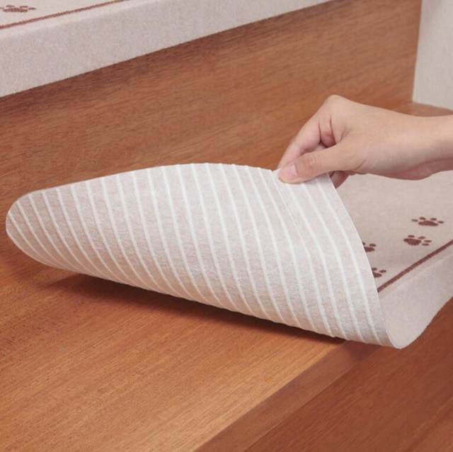5pcs Cartoon Carpet Stair Mats Self Adhesive Stairs Carpet Non Slip Dark  Safety Floor Mat For Kids Stair Pad New Mat