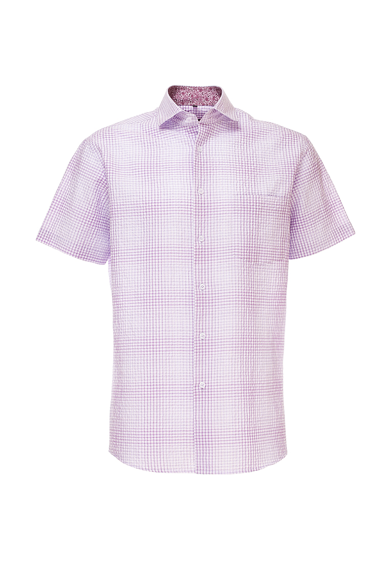 Shirt men's short sleeve GREG Gb175/109/744/Z/1 Lilac 3d letters and banknote printed round neck short sleeve men s t shirt