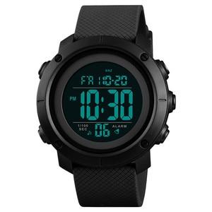 Image 1 - 시간 비밀 시계 남자 방수 야외 스포츠 학생 디지털 손목 시계 청소년 빛나는 다기능 전술 시계