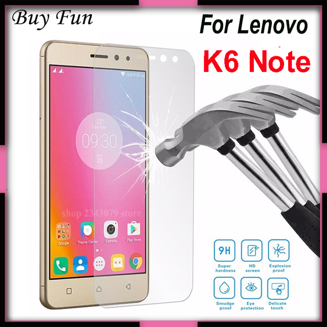 US $1 53 18% OFF|For Tempered Glass Lenovo K6 Note Screen Protector For  Lenovo Vibe K 6 K6 Note K53a48 Screen Protector Protective Glass Flim-in  Phone