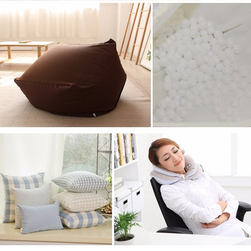 buy 500g250g wholesale white foam balls beanbag baby filler bed sleeping pillow bean bags chairsofa beads filler styrofoam ball from