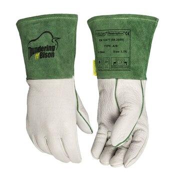 Rękawice do spawania ręka rękawiczka Bison rękawice skórzane