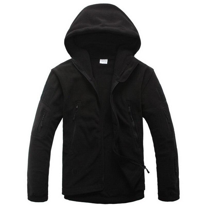 Chaqueta de paño grueso y suave militar Softshell Fleece con capucha - Ropa de hombre - foto 3