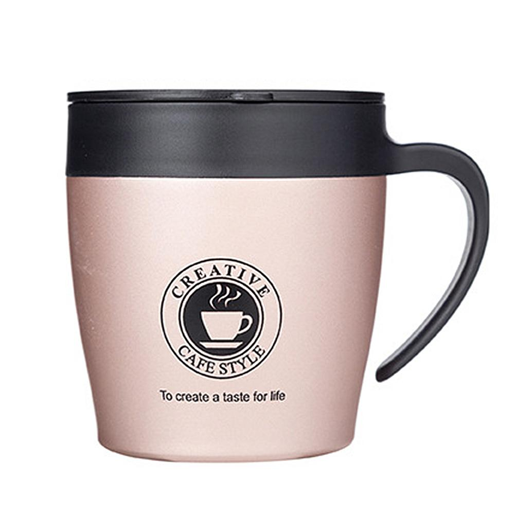 Coffee Mugs dolce gusto Stainless Steel Vacuum Water Tea Coffee Cup Anti-Scald Mug Drop Shipping