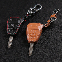 High Quality genuine leather car key cover , car styling fit for Jeep wrangler Jeep Compass Jeep Liberty