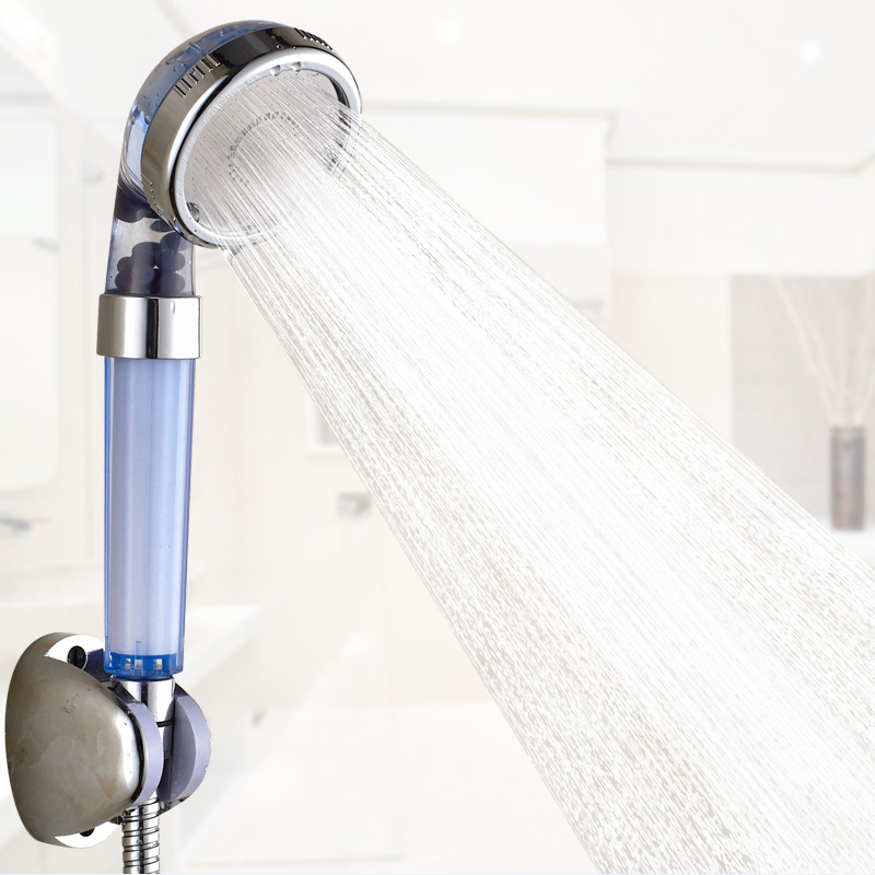 Water filtration PP cotton sprinkler head pressurized water washable three stalls sailors holding shower heads