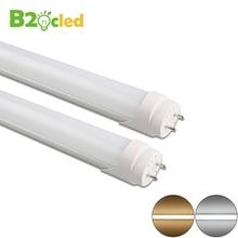 купить LED Tube T8 G13 Lamp 90-265V 110V 220V Aluminum Fluorescent Light Tube 60cm 9W LED Wall Lamp Warm Cold White for Home decoration по цене 689.74 рублей