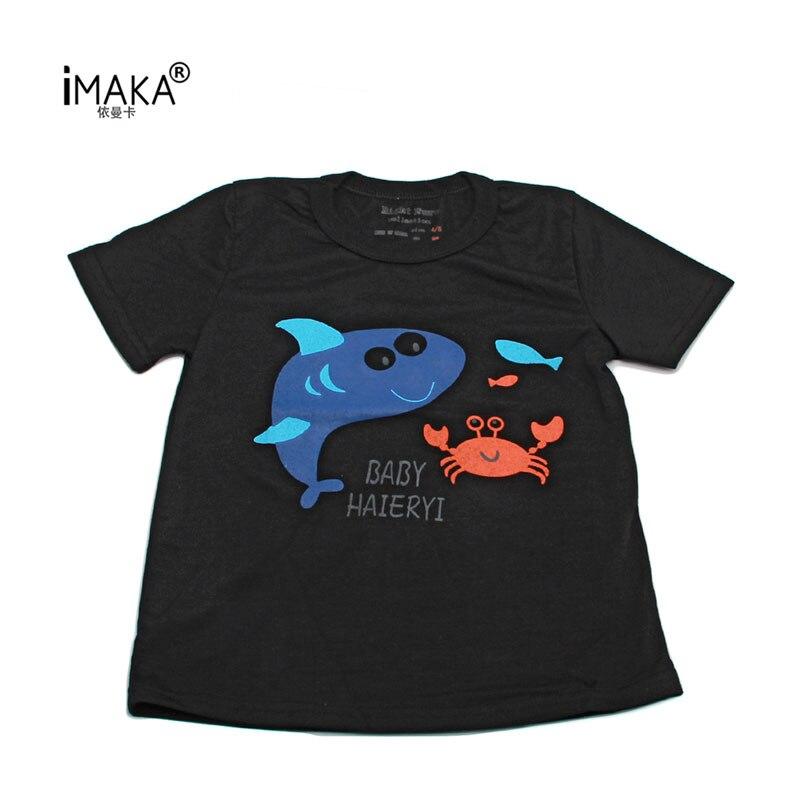 IMAKA Fashion Boys T-shirt Cotton Boys T-shirts 2017 New Summer Style Children Clothing Tops New Fashion Boys T-Shirts