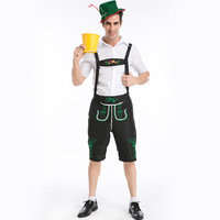 Hot Mens Lederhosen Bavarian Octoberfest German Festival Beer Costume Adult Oktoberfest Beer men Costume for Halloween Party