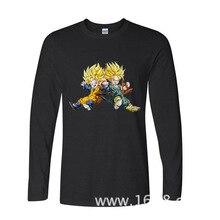 2017 Funny Graphic Funny Gotian Telankes Super Saiyan Dragon Ball   funny long sleeve t shirt