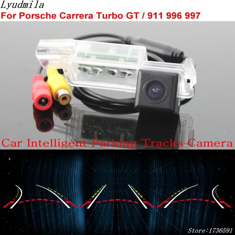 Lyudmila Car Intelligent Parking Tracks Camera FOR Porsche Carrera Turbo GT 911 996 997 Car Back