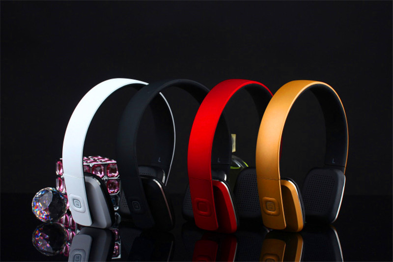 Newest Bluetooth Stereo Super Bass Headphones Bluetooth 4.0 High Fidelity Wireless Over-Ear Headset with mic for Smart Phone for kawasaki ninja 250 ninja250 2008 2015 ninja 300 ninja300 2013 2015 motorcycle aluminum short brake clutch levers black