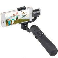 Горячая Распродажа afi V3 бесщеточный Yi ручной 3 оси Gimbal стабилизатор для iphone GoPro экшн камеры 3.5 до 6.1 дюймов смартфон
