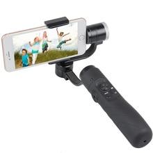 Venda quente V3 AFI yi handheld 3 eixos cardan brushless estabilizador para iphone gopro action camera 3.5 a 6.1 polegada smartphones