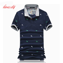 Men Business Polo Shirts Summer 95 % Cotton Short Sleeve Casual Slim Fit Embroidery Dress Shirts Brand Polo Shirts SL-S099