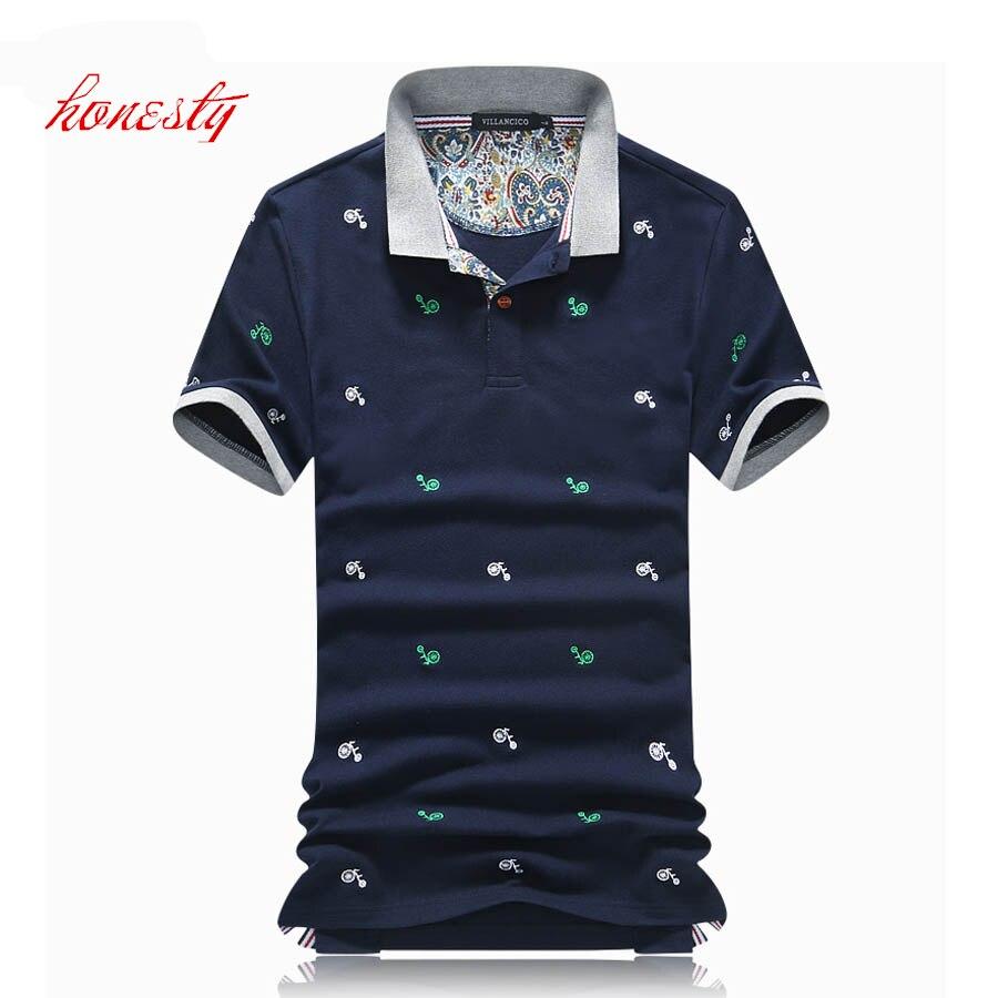 Men Business Polo Shirts Summer 95 Cotton Short Sleeve Casual Slim