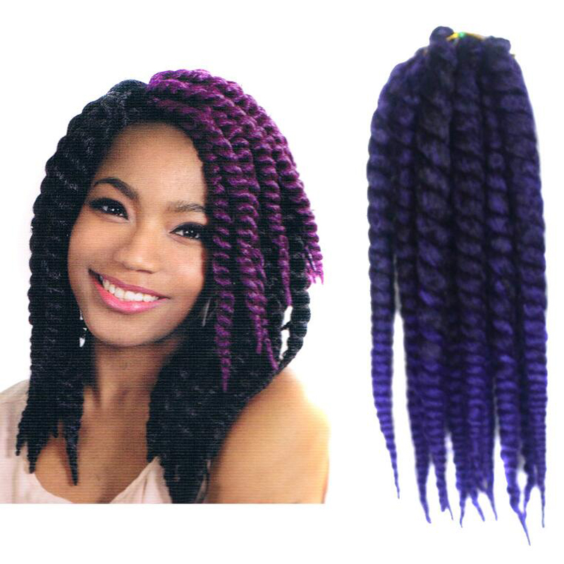 Crochet Braids Pack : New Crochet Braid Hair 12 90g/pack Synthetic Havana Mambo Crochet ...