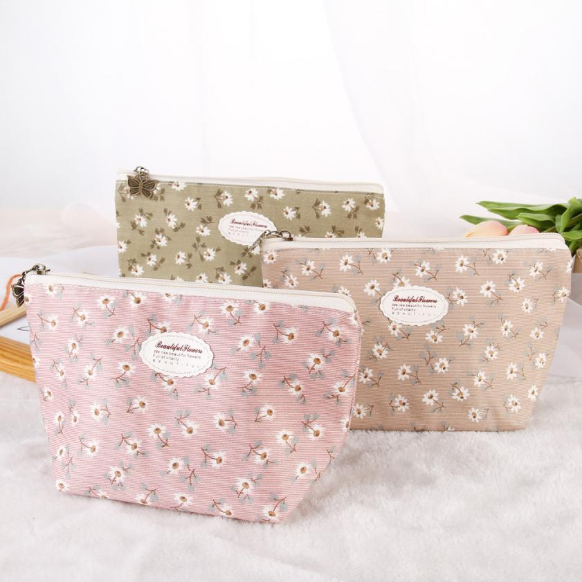 New Portable Travel Cosmetic Bag Makeup Case Pouch Toiletry Wash Organizer professional makeup bag neceser