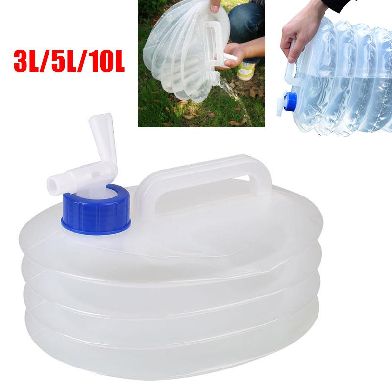 Camping Water Container >> 3l 5l 10loutdoor Folding Water Container Bucket Storage Pe Food
