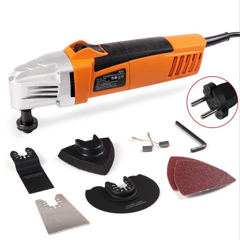 220 V tondeuse électrique coupe polissage meulage ouverture pelle à fente Machine multifonction travail du bois coupe outils électriques - 3